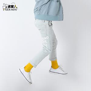 小虎宝儿童装男童牛仔裤春秋4-5-6岁儿童长裤2018春款新品