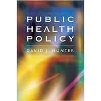 【预订】Public Health Policy 9780745626475