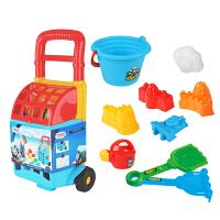 沙滩玩具挖沙玩沙铲子工具套装儿童桌多功能宝宝戏水玩具台