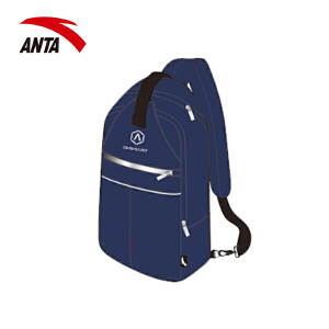 安踏胸包单肩包 2018新款多功能手机配件收纳包胸包挎包19737132