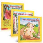 英文原版绘本 Gingerbread Man The Tale of Peter Rabbit The Little