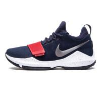 Nike耐克 男鞋 男子PG 1 EP运动实战篮球鞋 878628-100