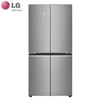 LG冰箱 F528MS36 十字对开532升大容量四门+门中门恒温存鲜变频冰箱