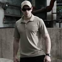 速干T恤男短袖修身POLO衫快干速干衣户外运动排汗透气T恤