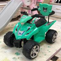 儿童电动摩托车四轮小孩玩具车宝宝电瓶车充电可坐人1-3岁男女孩