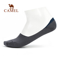 camel骆驼户外男款隐形袜 吸汗轻柔船袜徒步运动时尚外出