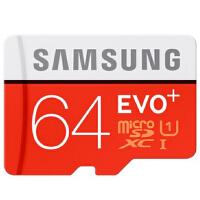 【包邮】三星(SAMSUNG)64GB UHS-1 原装手机内存卡TF卡存储卡闪存卡行车记录仪卡 64g tf卡 高速