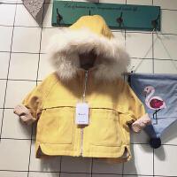 童装女童外套秋冬儿童女宝宝公主宽松大衣