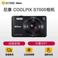 【苏宁易购】尼康 COOLPIX S7000轻便型相机 便携卡片机高清摄像正品
