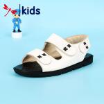 【1件2折后:59元】红蜻蜓新款夏季凉鞋男童漏趾个性时尚透气耐磨魔术贴儿童凉鞋
