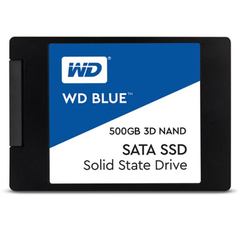 WD西部数据 Blue系列 500G 固态硬盘SSD WDS500G2B0A 7MM SATA3 蓝盘