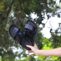 拖鞋女夏情侣外穿时尚沙滩鞋海边平底越南凉拖鞋女2019新款防滑鞋