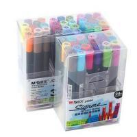晨光赛美涂鸦彩色马克笔 24/36色双头油性彩色记号笔APM25206系列