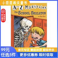 进口英文原版The School Skeleton A to Z 神秘案件 #19 学校里的骷髅