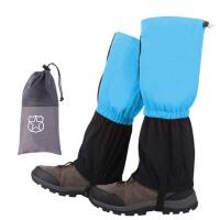 户外登山防雪鞋套冬季防水保暖雪套男女款 徒步装备防沙脚套