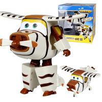 奥迪双钻超级飞侠玩具大号变形机器人全套装小飞侠玩具 卡文