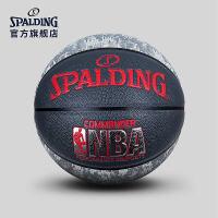斯伯丁篮球官方正品耐磨室外nba7号水泥地比赛专用非真皮牛皮74-934Y