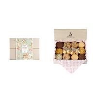 【年货】诗特莉绿薏之美 (L)880g 台湾进口牛奶巧克力燕麦手工喜饼饼干休闲零食品