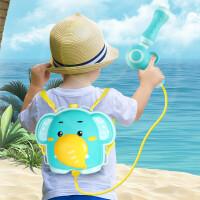 【大容量 背包水枪】蓓臣 萌趣动物抽拉式背包水枪 婴幼儿夏季户外戏水喷水玩具背带设计射程远