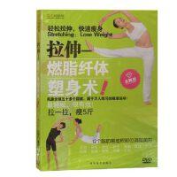 正版百科dvd光盘柔韧性训练拉伸燃脂纤体塑身术运动DVD碟片