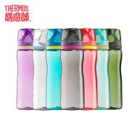 【限时抢】膳魔师/THERMOS便携式运动水壶随手杯春夏塑料杯大容量凉水杯HT-4002包邮