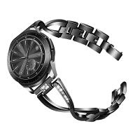 镶钻女表带 华为手表gt表带 华为watch2pro 金属 三星gear s3 三星g 三星galaxy watch