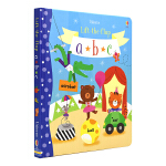 Usborne Lift the flap abc 儿童趣味英语字母 互动翻翻纸板书 低幼早教启蒙 英文原版图书