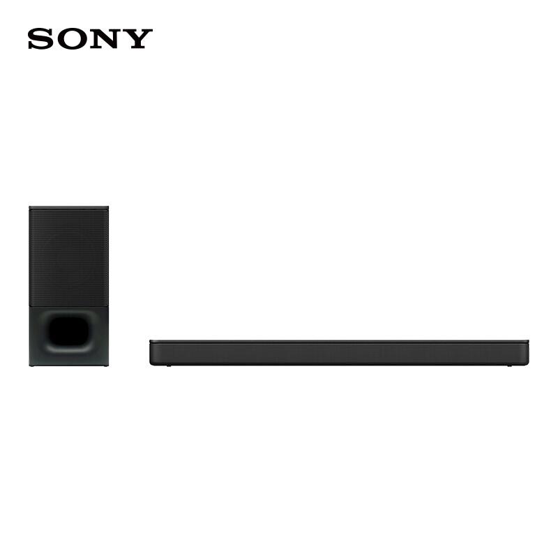 索尼 (SONY) HT-S350 蓝牙家庭影音系统 回音壁/Soundbar 索尼好音质,客厅变影院