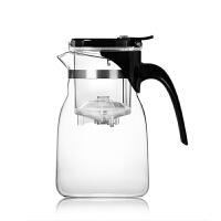 尚明飘逸杯茶道杯玻璃花茶壶 耐热带盖过滤可拆洗高硼硅泡茶壶冲茶器大容量茶具 A14
