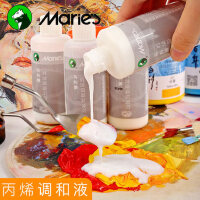 马利丙烯颜料专用调和液增加耐晒度光泽度100ML美术用品中稀释剂媒介