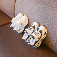 女童小白鞋秋季儿童百搭男童鞋