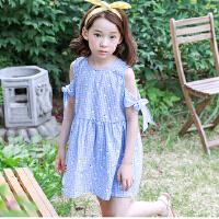 夏装新品童装韩版女童连衣裙中大童童裙公主裙