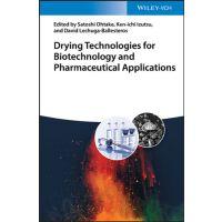 【预订】Drying Technologies For Biotechnology And Pharmaceutical