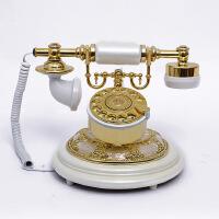 至臻欧式古典古董老式电话机 美式仿古电话机 转盘复古座机162S