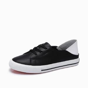 骆驼牌 运动 新款 休闲舒适系带小白鞋 复古简约秋鞋