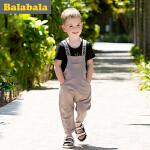 【书香节每满200减100】 巴拉巴拉 儿童短袖套装男小童宝宝2017夏季新款短袖