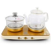 【支持礼品卡支付】荣事达YSH12-T01养生壶电热玻璃烧水壶煮茶壶消毒锅底部上水茶具