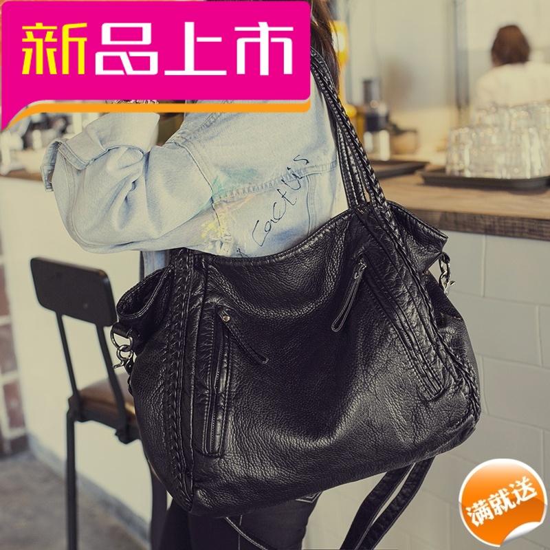包包春夏新款女包韩版潮大包简约百搭大容量手提包单肩斜挎包 发货周期:一般在付款后2-90天左右发货,具体发货时间请以与客服协商的时间为准