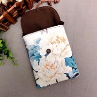 小零钱包创意手机包印花手工布艺帆布复古小斜跨包女包中国风