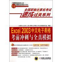 Excel 2003中文电子表格考前冲刺与全真模拟(新大纲专用) 全国专业技术人员计算机应用能力考试命题研究组 著作