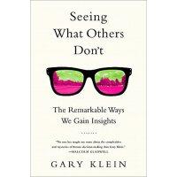 英文原版 洞察力的秘密 Seeing What Others Don't: The Remarkable Ways We