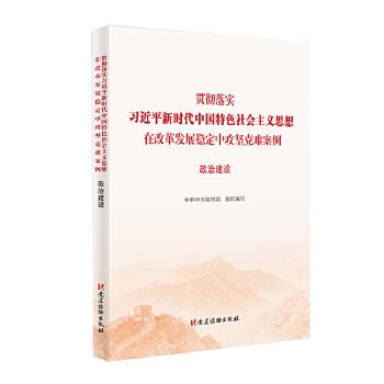 政治建设(贯彻落实习近平新时代中国特色社会主义思想在改革发展稳定中攻坚克难案例) 不忘初心牢记使命重要学习辅导读本、攻坚克难案例丛书