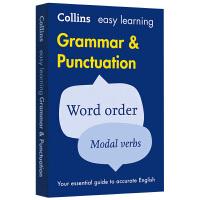 柯林斯轻松学英语语法和标点符号用法 英文原版字典 Easy Learning Grammar and Punctuat