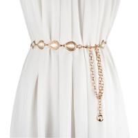 韩版新款女士细腰链金属腰带女时尚百搭装饰连衣裙带衬衫佩带腰链