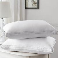 康尔馨五星级酒店枕芯荞麦枕头一个成人护颈椎枕单人全棉三层填充