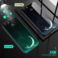 iPhone6手机壳苹果6plus创意iPhone6spuls玻璃壳pg6+夜光a1699个性六PI