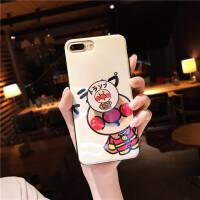 面包超人手机壳苹果6s可爱x超萌7少女心iPhone8plus软硅胶6女款七 苹果X 面包超人