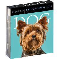 【现货】英文原版 2020年画廊日历:狗 每天一页 办公室桌面摆件(亚克力) 精美装帧 新年礼物 Dog Page-A