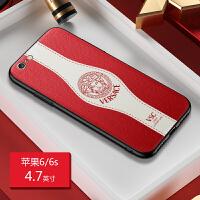 xriphonex手机壳真皮质苹果x情侣xs软max女8plus男7/6s防摔