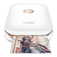 惠普HP 小印手机照片打印机SPROCKET 100(比妮白)